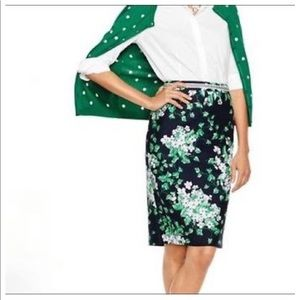 Talbots Oprah Collection Floral Skirt